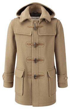 Mens London Duffle Coat -- Camel