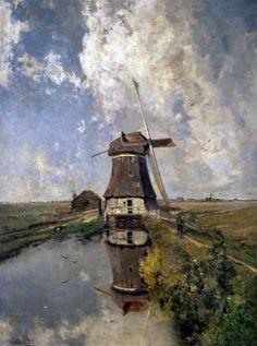 Gabriel, Paul J Constantine (b,1828)- Windmill