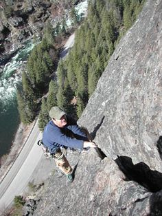 leavenworth rock climbing | Midway, 5.6, Castle Rock, Leavenworth.