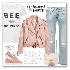 """""""Say What: Statement T-Shirts"""" by andrejae ❤ liked on Polyvore featuring R13, Estella Bartlett, Steve Madden, Pedro García, polyvoreeditorial, polyvorecontest and statementtshirt"""