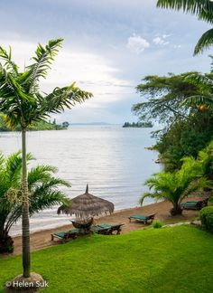 Lake Kivu, one of Africa's Great Lakes, offers a tranquil atmosphere, sandy beaches and a glimpse into rural Rwanda.