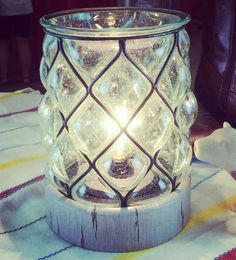 Our new country light warmer! Isn't it beautiful?!? jamiedjones.scentsy.us