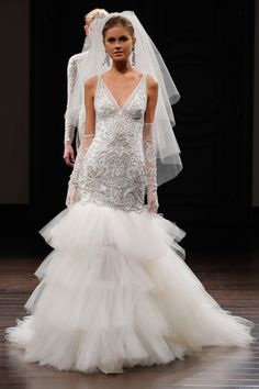 The Best in Spring Bridal Gowns  - ELLE.com - Naeem Khan 2015 (=)