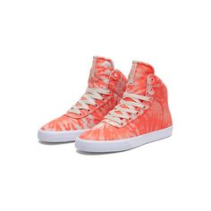 SUPRA Footwear ($87) ❤ liked on Polyvore featuring shoes, supra, sneakers, women, supra shoes, supra footwear, light weight shoes, mesh shoes and lightweight shoes