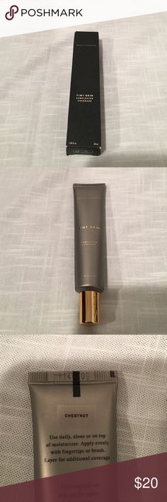 Beautycounter Tint Skin in Honey NIB Beautycounter Tint Skin Complexion Coverage in Chestnut NIB Beautycounter Makeup Foundation