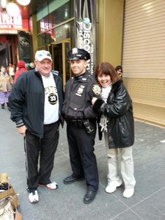 With one of New York City's finest!!!