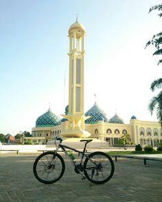 @yan_muhammad08 -  Gowes keMesjid  #gowes  #pacificbike  #sepeda #Regrann