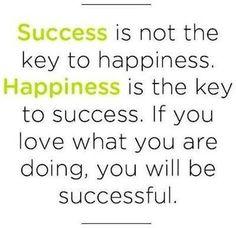 Success vs Happiness