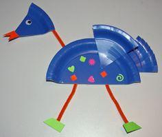 Plate bird