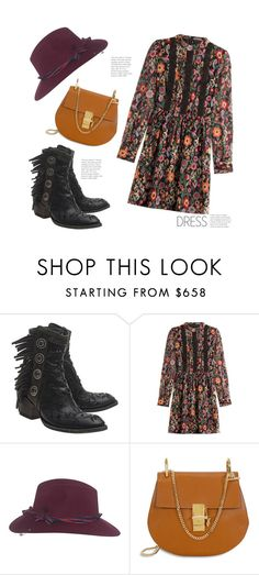 """""""Boho Friday..."""" by hattie4palmerstone ❤ liked on Polyvore featuring Mexicana, RED Valentino and Maison Michel"""