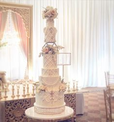 Our gorgeous couple deserves the most for their big day. I love their reactions the day after. ❤️ 💕 💗 Tall Wedding Cakes, Luxury Wedding Cake, Crazy Cakes, Wedding Cake Inspiration, Big Day, Chandelier, Ceiling Lights, Wedding Dresses, Couple