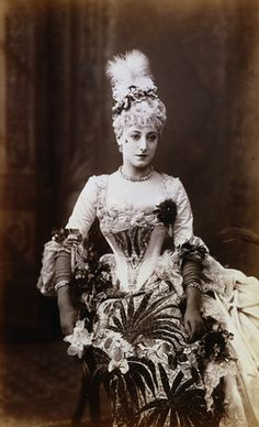 Kate Vaughan as Lady Teazle in The School for Scandal, 1887