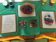 Developing creativity through fine motor and cognitive skills. Filling in stencils with loose parts and pattern investigation. Child Care, Reggio, Fine Motor, Stencils, Creativity, Inspired, Children, Pattern, Life