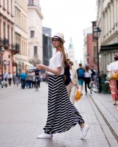 Dare long skirt WITH SNEAKERS