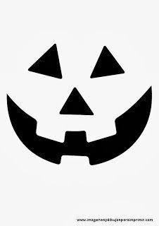 Scarey ghost pumpkin template halloween pinterest pumpkin caras de calabaza de halloween ms maxwellsz