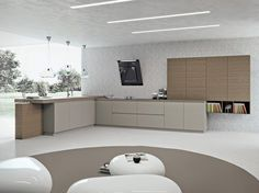 Linear fitted kitchen AK_03 by Arrital | design Franco Driusso