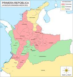 Mapa Nueva Granada (1811).svg