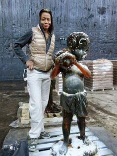 Kara Walker Creates a Confection at the Domino Refinery - NYTimes.com