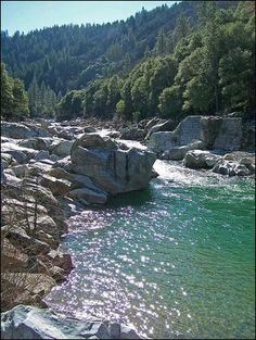 Water is Gold: Yuba River a source of beauty and of wealth.