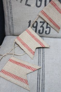 The Cottage Market: 25 Burlap DIY's