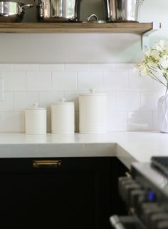 Numbered Earthenware Canisters | Rejuvenation