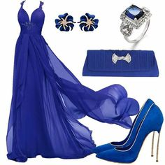 Lila Outfits, Chic Outfits, Fashion Outfits, Gala Dresses, Pageant Dresses, Formal Dresses, Beautiful Gowns, Beautiful Outfits, Blue Fashion