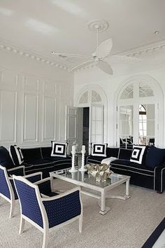 VT Interiors - Library of Inspirational Images: Blue Monday