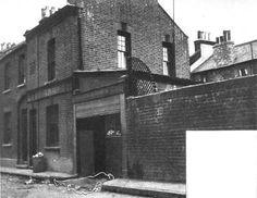 Buck's Row, where Mary Ann Nichols was killed.