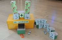 rekenfabriek Math Addition, Addition And Subtraction, Math Tables, Numeracy Activities, Teaching Kindergarten, Teaching Ideas, Simple Math, 1st Grade Math, Math Stations