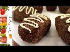 Творожное Шоколадное Пирожное - YouTube