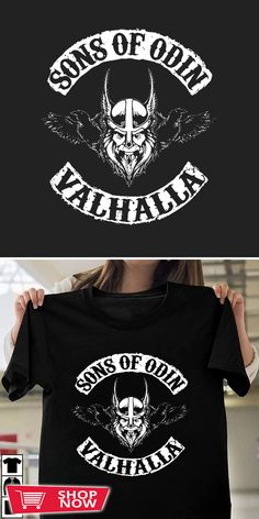 Mens Vikings Raven Sword NEW LS Baseball Shirt