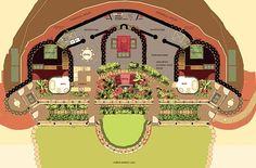 Earthship Home Plans On Pinterest Earthship Home
