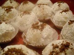 Spiced Rum Pecan Cookie Balls