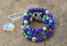 Blueberries: Acai Beads Bracelet Colorful Acai Beads Memory Wire Bracelet / Eco friendly Jewelry, Organic Beads, Acai Seeds / Handmade by NatureBeads on Etsy https://www.etsy.com/listing/201617617/blueberries-acai-beads-bracelet-colorful