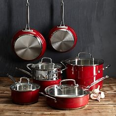 Pots And Pans Set Mauviel Copper Cookware Set Ceramic-Coated Cookware Healthy Spring & Summer Soups font color