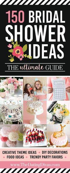 150 Best Bridal Shower Ideas