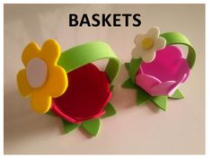 DIY - Foam Sheets Baskets