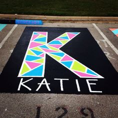 Senior parking spot - Senior Shirts - Ideas of Senior Shirts - Senior parking spot Parking Space, Parking Lot, Parking Spot Painting, School Pranks, Senior Pranks, School Painting, Space Painting, Crafts For Seniors, Parking Design