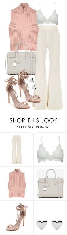 """""""Untitled #19918"""" by florencia95 ❤ liked on Polyvore featuring E L L E R Y, Anine Bing, Diesel Black Gold, Yves Saint Laurent and Schutz"""