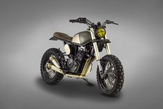 The latest build from Ton-Up Garage is this Honda 650 bound for Southern Africa.