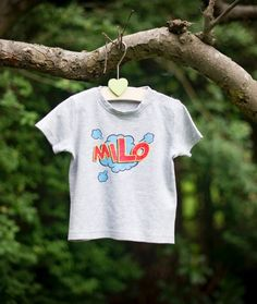 7130f3f3a Adorable Named Baby Clothes · Pop art with Percy and Nell. 100% ethically  produced cotton.