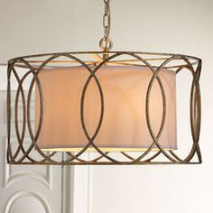 modern chandeliers by Horchow
