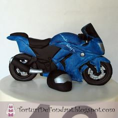 Kawasaki & BMW   Torturi de fondant