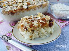 Ala piecze i gotuje: Płatki ryżowe z jabłkami i żurawiną