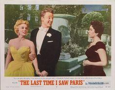 The Last Time I Saw Paris - Lobby card