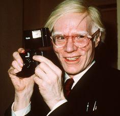 andy warhol art | Photos: les lunettes d'Andy Warhol | Lunettes de.com
