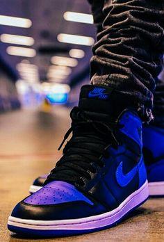"Air Jordan 1 ""Royal"" Sneakers Fashion Outfits, Casual Sneakers, Casual Shoes, Popular Sneakers, Latest Sneakers, Jordan Shoes, Jordan 1, Men's Shoes, Nike Shoes"