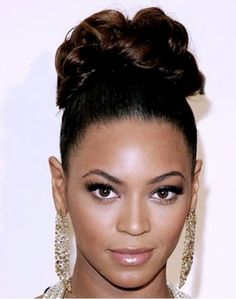 Wondrous Elegant Updo Updo Hairstyle And Black Women On Pinterest Short Hairstyles Gunalazisus