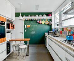 cocina verde - ¡Cocinas a todo color!