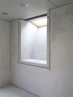 Fertigteilelement KNECHT Kleiner Lichtfluter im Rohbau ventilation Basement Wall Panels, Basement Windows, Basement Bedrooms, Basement Walls, Basement Flooring, Walkout Basement, Basement Layout, Modern Basement, Basement Ideas